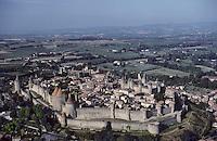 Europe/France/Languedoc-Roussillon/11/Aude/Carcassonne: Vue aérienne