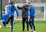 St Johnstone Training……26.08.20<br />Coach Steven MacLean talks with Murray Davidson and Liam Craig during training at McDiarmid Park ahead of Saturday's game against St Mirren.<br />Picture by Graeme Hart.<br />Copyright Perthshire Picture Agency<br />Tel: 01738 623350  Mobile: 07990 594431