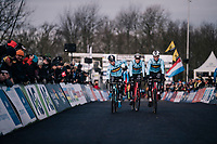 the Belgians are here!<br /> <br /> U23 Men's Race<br /> UCI CX Worlds 2018<br /> Valkenburg - The Netherlands