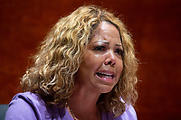 United States Representative Lucy McBath (Democrat of Georgia) speaks during the US House Judiciary Committee hearing on 'Policing Practices and Law Enforcement Accountability', on Capitol Hill in Washington, DC, USA, 10 June 2020. The hearing comes after the death of George Floyd while in the custody of officers of the Minneapolis Police Department and the introduction of the Justice in Policing Act of 2020 in the US House of Representatives.<br /> Credit: Michael Reynolds / Pool via CNP/AdMedia