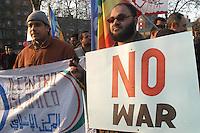 - demonstration for peace and against the war in Iraq organized by Muslems immigrates of the Segrate Muslim .Center<br /> <br /> - manifestazione per la pace e contro la guerra in Iraq organizzata dagli immigrati mussulmani del Centro Islamico di Segrate