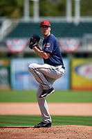 Minnesota Twins pitcher Alex Meyer (51) during a Spring Training practice on March 1, 2016 at Hammond Stadium in Fort Myers, Florida.  (Mike Janes/Four Seam Images)