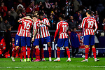XXX of Atletico de Madrid and XXX of RCD Espanyol during La Liga match between Atletico de Madrid and RCD Espanyol at Wanda Metropolitano Stadium in Madrid, Spain. November 10, 2019. (ALTERPHOTOS/A. Perez Meca)