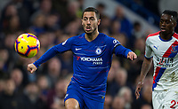 Eden HAZARD of Chelsea during the Premier League match between Chelsea and Crystal Palace at Stamford Bridge, London, England on 4 November 2018. Photo by Andy Rowland.<br /> .<br /> (Photograph May Only Be Used For Newspaper And/Or Magazine Editorial Purposes. www.football-dataco.com)