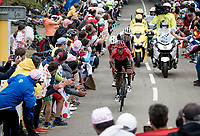 Nairo Quintana (COL/Arkea-Samsic) up the Col de Marie Blanque (1st Cat)<br /> <br /> Stage 9 from Pau to Laruns (153km)<br /> <br /> 107th Tour de France 2020 (2.UWT)<br /> (the 'postponed edition' held in september)<br /> <br /> ©kramon