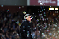 Sunday 07 December 2014<br /> Pictured: A rather impassive Sam Alardyce, manager for West Ham after Andy Carroll scores an equaliser<br /> Re: Premier League West Ham United v Swansea City FC at Boleyn Ground, London, UK.