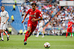 Liverpool´s Morientes during 2015 Corazon Classic Match between Real Madrid Leyendas and Liverpool Legends at Santiago Bernabeu stadium in Madrid, Spain. June 14, 2015. (ALTERPHOTOS/Victor Blanco)