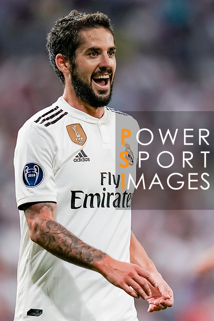 Isco Alarcon of Real Madrid reacts during the UEFA Champions League 2018-19 match between Real Madrid and Roma at Estadio Santiago Bernabeu on September 19 2018 in Madrid, Spain. Photo by Diego Souto / Power Sport Images