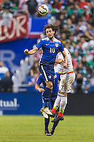 United States' midfielder Mix Diskerud (10) during an international friendly at the Alamodome, Wednesday, April 15, 2015 in San Antonio, Tex. USA defeated Mexico 2-0. (Mo Khursheed/TFV Media via AP Images)