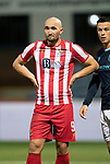 Dundee v St Johnstone…22.09.21  Dens Park.    Premier Sports Cup<br />Chris Kane<br />Picture by Graeme Hart.<br />Copyright Perthshire Picture Agency<br />Tel: 01738 623350  Mobile: 07990 594431