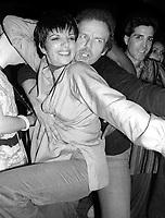 Liza Minnelli Gower Champion 1978<br /> Photo By Adam Scull/PHOTOlink.net