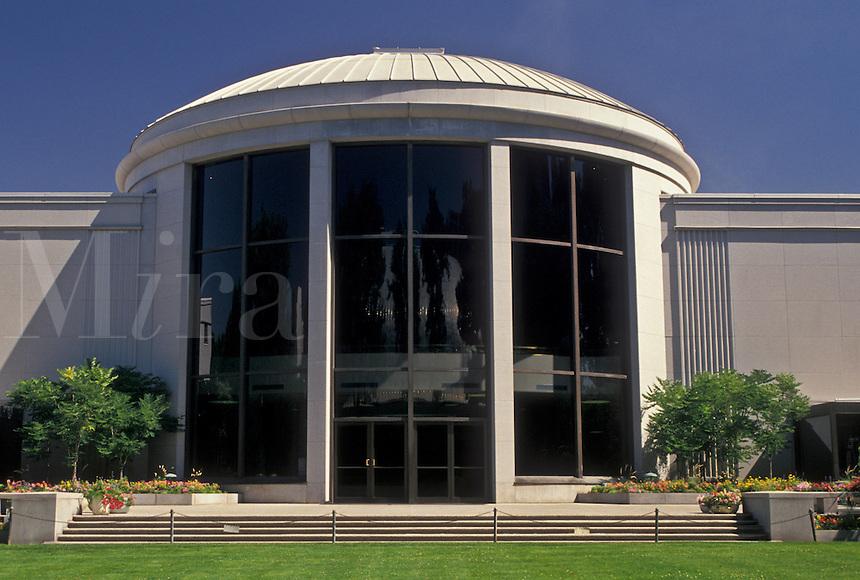Salt Lake City, UT, mormons, Utah, North Visitor Center at Temple Square in Salt Lake City. The Church of Jesus Christ of Latter-day Saints.