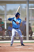 Tampa Bay Rays Carl Chester (88) during a Minor League Spring Training game against the Minnesota Twins on March 17, 2018 at CenturyLink Sports Complex in Fort Myers, Florida.  (Mike Janes/Four Seam Images)
