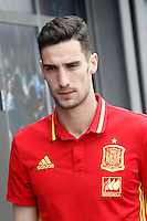 Sergio Rico during Spanish national football team stage. March 22,2016. (ALTERPHOTOS/Acero)