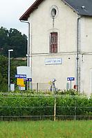 train station saint emilion bordeaux france