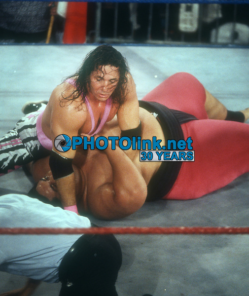 Brett Hart Yokozuna 1993, Photo By John Barrett/PHOTOlink