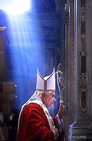 the Saint Padre Benedict XVI will preside, today 2 February, to the hours 12:00, the Altar of the Chair of the Basilica of Saint Peter, the Esequiale Liturgy of the Cardinal Antonio María Javierre Ortas, S.D.B., emerito Prefetto of the Congregation for the Divine Cult and the Discipline of the Sacramenti, died this morning to Rome, to the age of 85 years.
