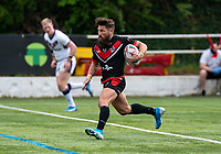 Jarrod Sammut of London Broncos during the Betfred Championship match between London Broncos and Newcastle Thunder at The Rock, Rosslyn Park, London, England on 9 May 2021. Photo by Liam McAvoy.