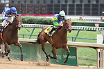 Shameless with Corey Lanerie outruns Cat onthe Town with Miguel Mena to win the 3rd race at Churchill Downs. 05.15.2010