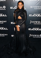 NEW YORK CITY, NY, USA - OCTOBER 30: Angela Simmons arrives at the 11th Annual Keep A Child Alive Black Ball held at the Hammerstein Ballroom on October 30, 2014 in New York City, New York, United States. (Photo by Celebrity Monitor)