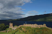 Urquhart Castle and Loch Ness, Drumnadrochit, Inverness-shire<br /> <br /> Copyright www.scottishhorizons.co.uk/Keith Fergus 2011 All Rights Reserved