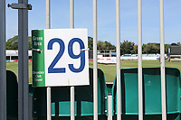 General view of the Green Area 29 signage ahead of Essex Eagles vs Sussex Sharks, Vitality Blast T20 Cricket at The Cloudfm County Ground on 15th June 2021