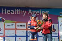 WIELRENNEN: HEERENVEEN: 13-04-2019, Healthy Ageing Tour, Anouska Koster, ©foto Martin de Jong
