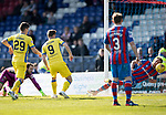 Inverness Caley v St Johnstone…08.04.17     SPFL    Tulloch Stadium<br />Steven MacLean scores for saints<br />Picture by Graeme Hart.<br />Copyright Perthshire Picture Agency<br />Tel: 01738 623350  Mobile: 07990 594431
