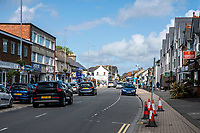 BNPS.co.uk (01202 558833)<br /> Pic: MaxWillcock/BNPS<br /> Date taken: 28/07/2021<br /> <br /> Pictured: The High Street in Highcliffe, Dorset. The duo targeted Lymington Road in Highcliffe, Dorset.<br /> <br /> The 'Rolex Rippers' are believed to have struck 23 times in southern England, especially in Dorset and Hampshire.<br /> <br /> The serial watch thieves target elderly men for their expensive watches in affluent areas and close to exclusive golf clubs.