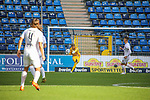 Jan-Christoph Bartels (SV Waldhof Mannheim, #23) im Spiel gegen FC Ingolstadt beim Spiel in der 3. Liga, SV Waldhof Mannheim - FC Ingolstadt.<br /> <br /> Foto © PIX-Sportfotos *** Foto ist honorarpflichtig! *** Auf Anfrage in hoeherer Qualitaet/Aufloesung. Belegexemplar erbeten. Veroeffentlichung ausschliesslich fuer journalistisch-publizistische Zwecke. For editorial use only. DFL regulations prohibit any use of photographs as image sequences and/or quasi-video.