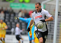 ATTENTION SPORTS PICTURE DESK<br /> Pictured: Shefki Kuqi of Swansea City in action<br /> Re: Coca Cola Championship, Swansea City Football Club v Newcastle United at the Liberty Stadium, Swansea, south Wales. 13 February 2010