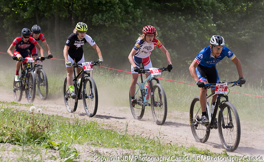 Canada Cup Series - National MTB Bike Race at Horseshoe Valley Superfly MTB Canada Cup Series - Cycling Canada  at Horseshoe Resort on June 7, 2015