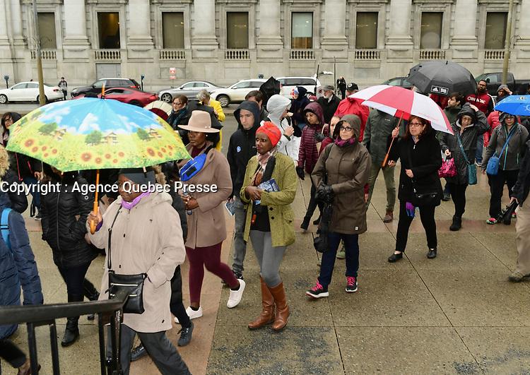 Procession<br /> du Vendredi Saint, 18 avril 2019<br /> <br /> <br /> PHOTO : Agence Quebec Presse