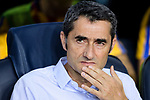 FC Barcelona Head Coach Ernesto Valverde during the Supercopa de Espana Final 1st Leg match between FC Barcelona and Real Madrid at Camp Nou on August 13, 2017 in Barcelona, Spain. Photo by Marcio Rodrigo Machado / Power Sport Images