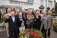 Hucknall Rotary toast Horse and Groom