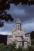 Europe/France/Auverne/63/Puy-de-Dôme/Saint-Nectaire: L'église romane (XIIème siècle)