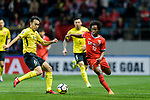 AFC Champions League 2018 Group Stage G Match Day 4 between Jeju United and Guangzhou Evergrande at Jeju World Cup Stadium on 14 March 2018 in Jeju, South Korea. Photo by Marcio Rodrigo Machado / Power Sport Images