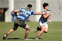 Max Brown of Otago Boys, during the 1st XV South Island Final rugby match between Otago Boys High School 1st XV and Nelson College 1st XV at Littlebourne in Dunedin, New Zealand on Saturday, 31 August 2019. Photo: Joe Allison / lintottphoto.co.nz