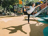 Yoga Portrait, Gyeongnidan, Seoul, 2013.