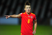 Angharad James of Wales Women's during the UEFA Women's EURO 2022 Qualifier match between Wales Women and Faroe Islands Women at Rodney Parade in Newport, Wales, UK. Thursday 22 October 2020