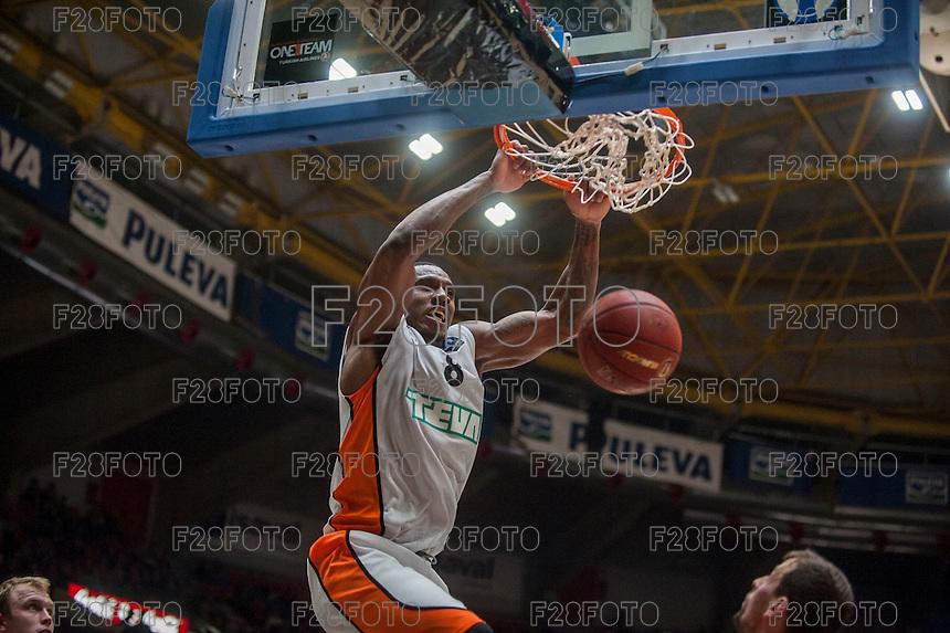 VALENCIA, SPAIN - December 2: Raymar Morgan during EUROCUP match between Valencia Basket Club and Ratiopharm ULM at Fonteta Stadium on December 2, 2015