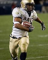 10 October 2007: Navy running back Zerbin Singleton..The Navy Midshipmen beat the Pitt Panthers 48-45 in double overtime on October 10, 2007 at Heinz Field, Pittsburgh, Pennsylvania.