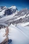 Mount Waddington, British Columbia, Canada, Highest Peak in the Coast Mountains, waddington range, North America, aerial,