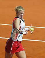 6-6-06,France, Paris, Tennis , Roland Garros, Kim Clijsters
