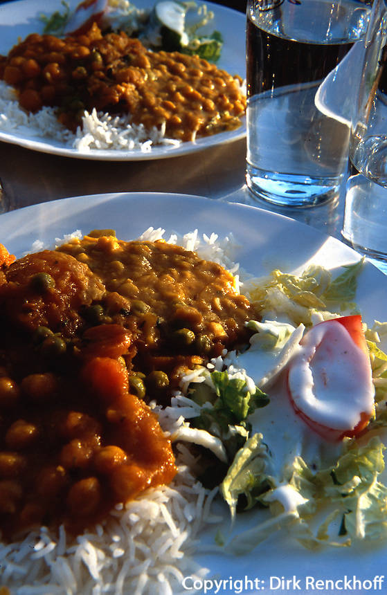 Norwegen, Oslo, indisches Essen
