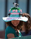 9 April 2010: A Zenyatta fan at Oaklawn in Hot Springs, Arkansas