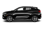 Car driver side profile view of a 2020 Buick Encore GX Select 5 Door SUV