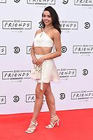 Vanessa Bauer<br /> arriving for FriendsFest 2021, Clapham Common, London.<br /> <br /> ©Ash Knotek  D3567 24/06/2021