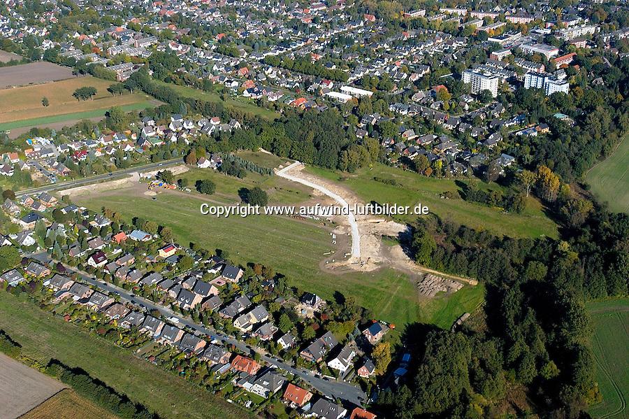 Meienhoop: EUROPA, DEUTSCHLAND,SCHLESWIG- HOLSTEIN, GLINDE 15.10.2005: Neubaugbiet Meienhoop
