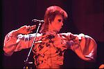 DAVID BOWIE as Ziggy Stardust  1973<br /> © Chris Walter